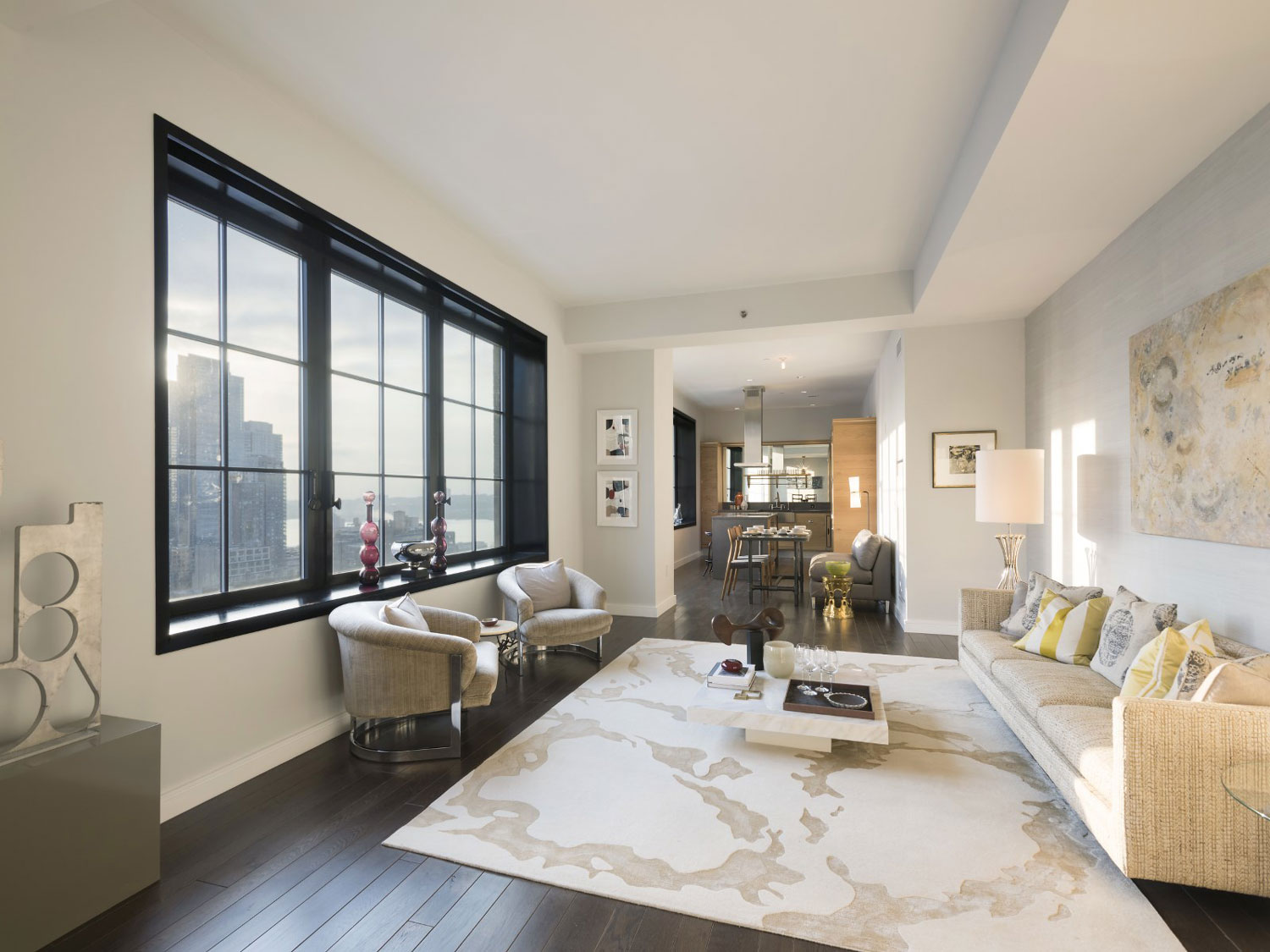 Nyc penthouses for sale in hell s kitchen stella tower for Hell s kitchen nyc apartments